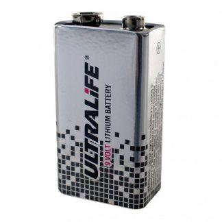 Lithium 9-volt batterij